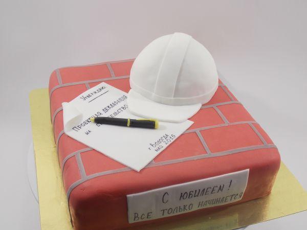 Торт строителю фото